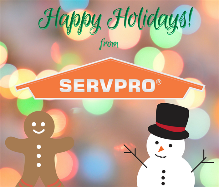 General Use SERVPRO this Holiday Season!